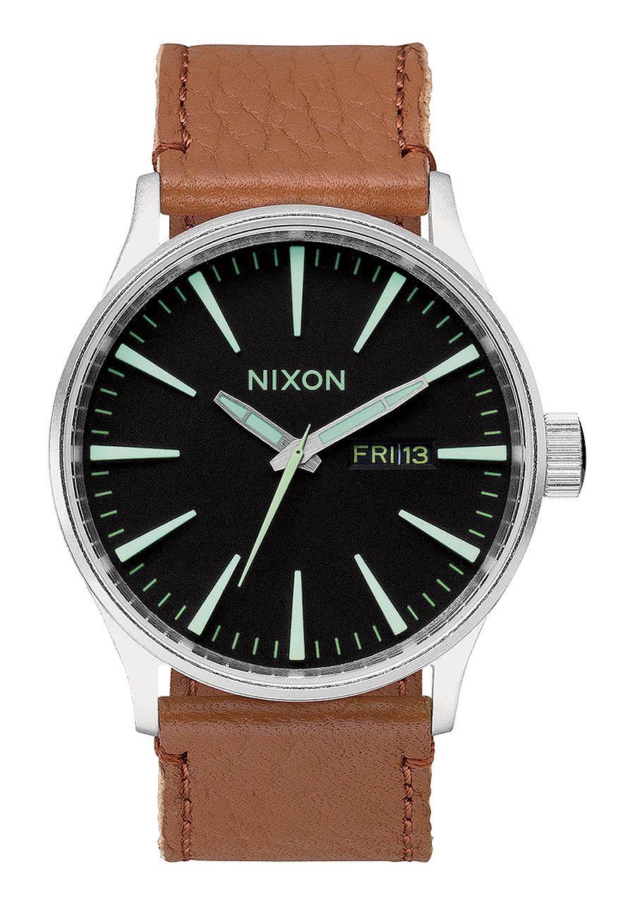 Nixon Sentry Leather 42mm Image