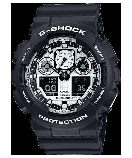 Casio G-Shock GA-100-BW-1AER Image